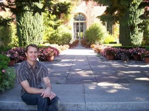 Eric at Filoli estate