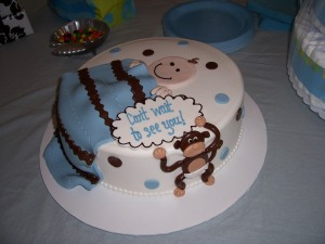 The delicious & adorable cake