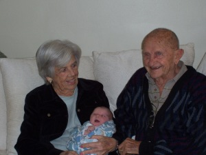 Great Grandparents Annie and Pap
