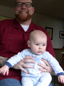 Calvin with Uncle Jim